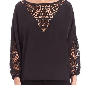 REDUCED!!! Worn once! Townsen top w/Latrice detail