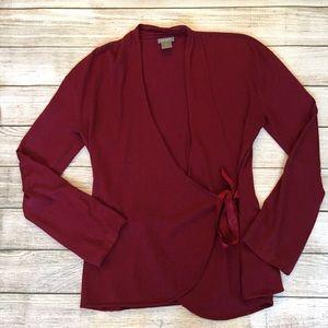 Ann Taylor Sweaters - Ann Taylor Silk Wrap Sweater
