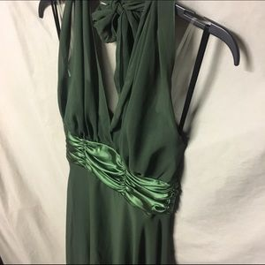 Connected Apparel Dresses & Skirts - Emerald Green Halter Dress