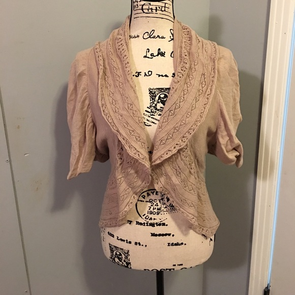 66% off new directions Sweaters - New Directions Beige Shrug ...