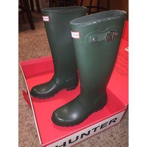 Hunter Boots Shoes - NIB Hunter Boots - Dark Green | Women's 7