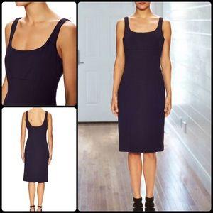 Diane von Furstenberg Dresses & Skirts - Diane von Furstenberg Myla Navy Sheath