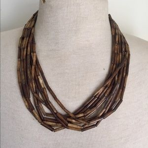 Vintage multi strand necklace