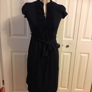 Oh Baby by Motherhood Dresses & Skirts - Navy Blue Maternity Dress