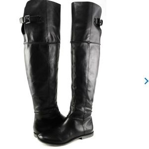 Kenneth Cole Reaction Shoes - Real leather Over knee boots 25$