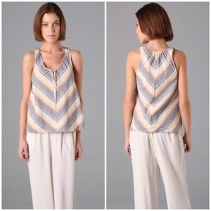 TEXTILE Elizabeth and James Tops - {Elizabeth and James} Monterey Striped Woven Top