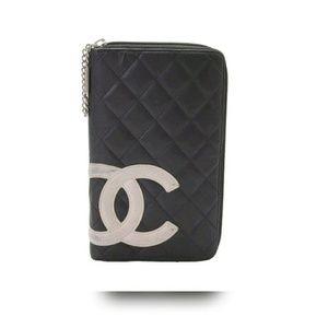 CHANEL Handbags - 🍃🌸Chanel Cambon Bi-fold Zip Around Wallet