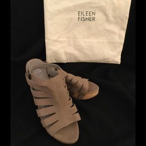 Eileen Fisher wedges size 10
