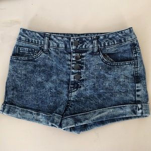Forever 21 Pants - Forever21 Mid Waisted Button Jean Short