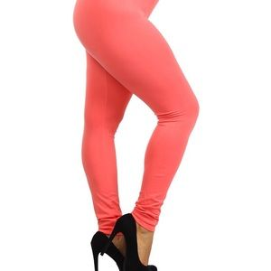 Infinity Raine Pants - 🆕JUST IN! CORAL SOLID KNIT LEGGINGS