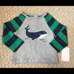 Mini Boden Other - Boden whale shirt