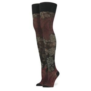Stance Accessories - Rihanna X Stance Lotus Flower Thigh High Socks