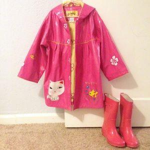 Kidorable Other - Girls pink raincoat 🌦☔️