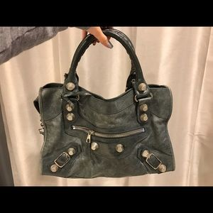 Balenciaga Handbags - Balenciaga City in Anthracite w/ slvr hardware.