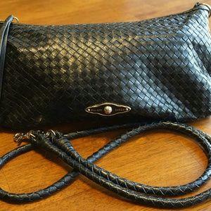 Elliott Lucca Handbags - Elliott Luca leather black crossbody purse
