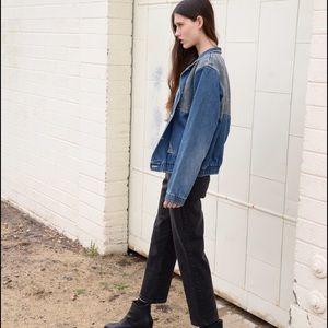 Vintage Wrangler Two Tone Denim Jacket