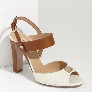 Valentino Shoes - Valentino Rockstud Macrostud colorblock sandal 6.5