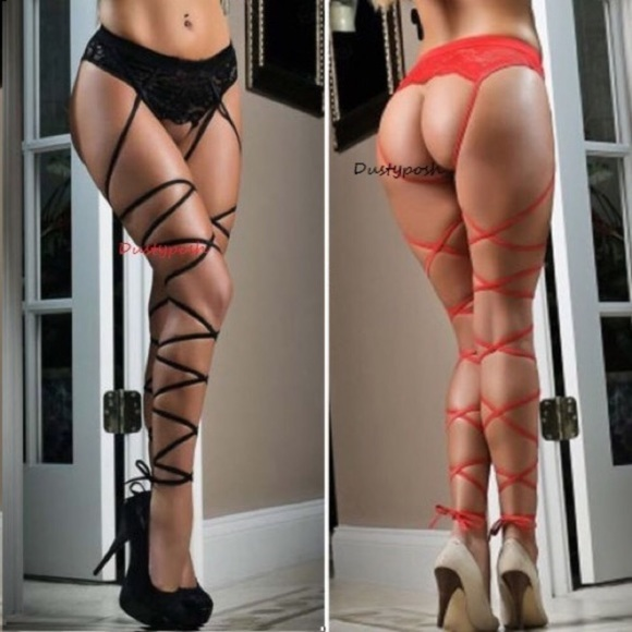 9c96c092521 Lace Top Thigh High Suspender Garter Belt Stocking
