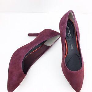 Rockport Shoes - Rockport ADIPRENE Comfort Wine Pumps Heels 8.5 W