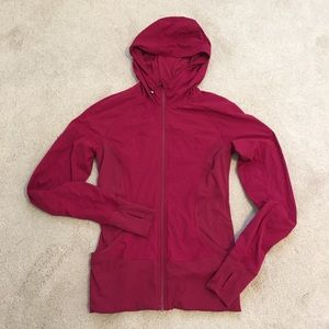 lululemon athletica Jackets & Blazers - REVERSIBLE Lululemon In Flux Jacket - Cranberry