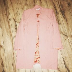 Pale peach vintage blazer
