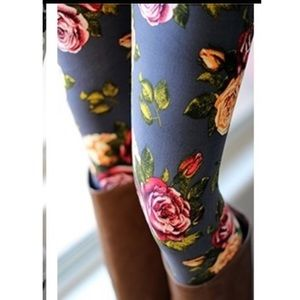 OS Rose Leggings