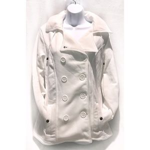 Deb Jackets & Blazers - 🆕 White Double Breasted Coat