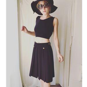 Vintage Dresses & Skirts - ✨ Saks Fifth Avenue Vintage Pleaded Skirt
