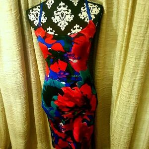 Savannah Floral Midi Dress