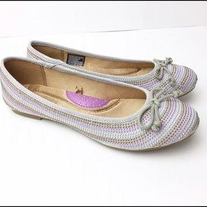 Skechers Shoes - Sketchers Juliet Ballet Flat Gray Premium Insole 5