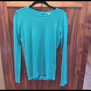 Valette Sweaters - Valette 100% wool sweater.  Beautiful color!