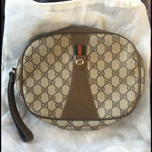Gucci Handbags - Sale! Authentic vintage Gucci wristlet/clutch