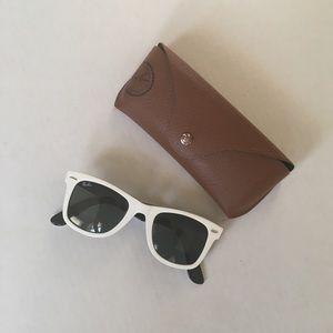 Ray-bans  White Sunglasses