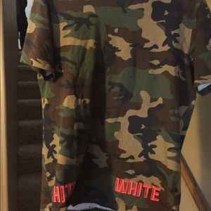 Off-White Other - Off White C/O Virgil Abloh Camo Tee