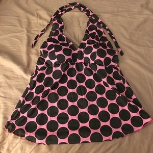 Other - Polka Dot Tankini Top