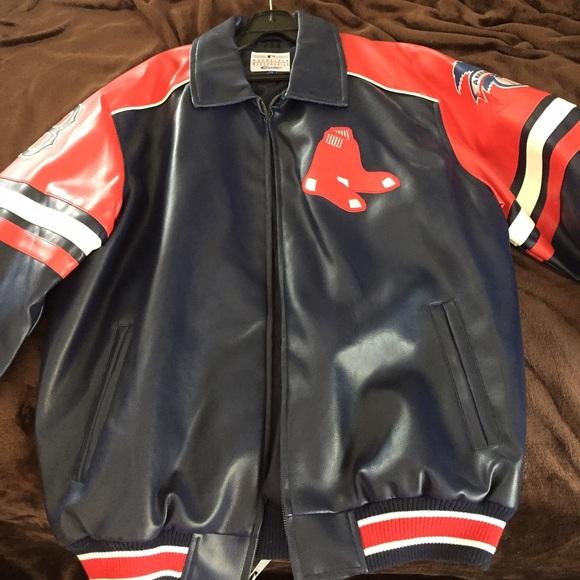 size 40 ec2bc c1be2 Men s Boston Red Sox bomber jacket
