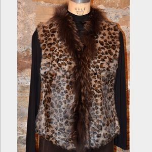 ADORE Jackets & Blazers - ✨TODAY ONLY SALE✨Adore Leopard  Vest