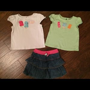 Gymboree Other - Gymboree Popsicle Party Girls Baby Outfit Set