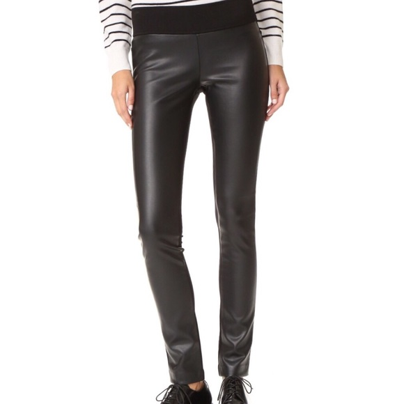 e6497863da5df0 Club Monaco Pants - Club Monaco Faux Leather Leggings