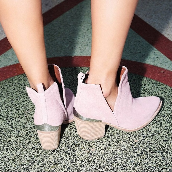 ce39a67c9e7d Jeffrey Campbell Hunt The Plains pink bootie