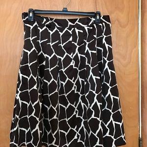 Focus 2000 Dresses & Skirts - Focus 2000 leopard print skirt