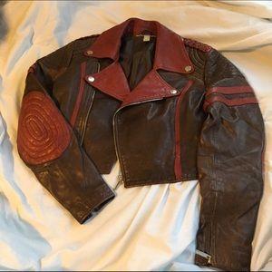 Jean Paul Gaultier Jackets & Blazers - Vintage Jean Paul Gaultier moto jacket
