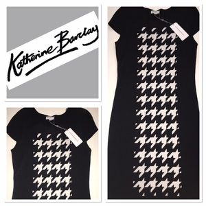 Katherine Barclay Dresses & Skirts - NWT Katherine Barclay houndstooth dress