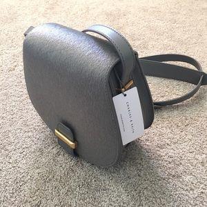 Brand new grey Charles & Keith bag.