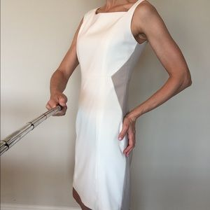 ea619705e04a Elie Tahari Dresses - Off white and taupe Elie Tahari dress