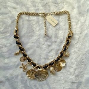 Ann Taylor Jewelry - Ann Taylor shell statement necklace
