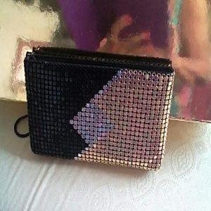 Handbags - Metal & Mesh wristlet evening purse NEW