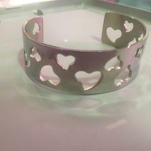 Heart stainless steel bracelet