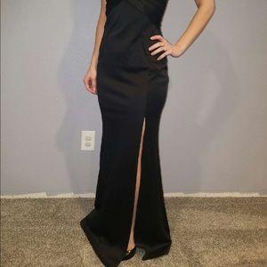 2be30e6e40e Emerald Sundae Dresses - Macy s Mermaid Style Black Evening Gown Size Small