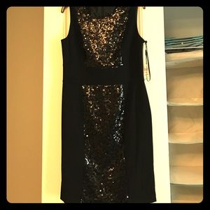 Calvin Klein sequined sheath dress size 10